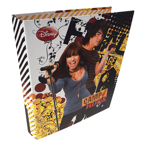 2 RING BINDER CAMP ROCK