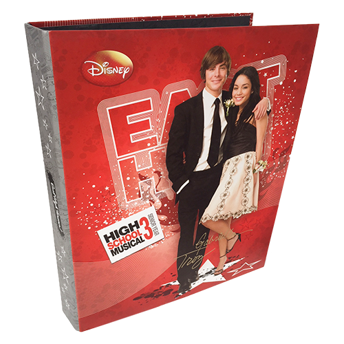 2 RING BINDER HIGH SCHOOL MUSICAL