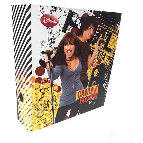 LEVER ARCH FILE CAMP ROCK