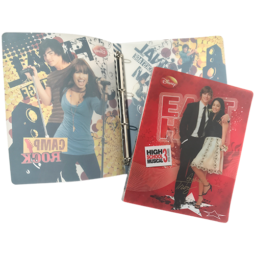 4 RING BINDER HIGH SCHOOL MUSICAL
