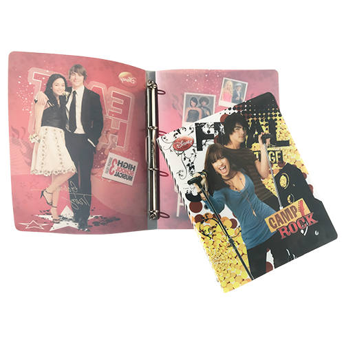 4 RING BINDER CAMP ROCK