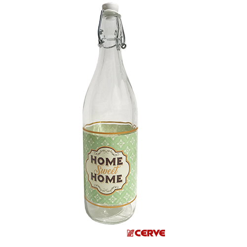 05207 BOTTLE LORY HOME SWEET HOME GREEN
