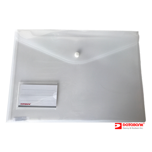 105N-A4 CLEAR FOLDER WITH CARD POCKET