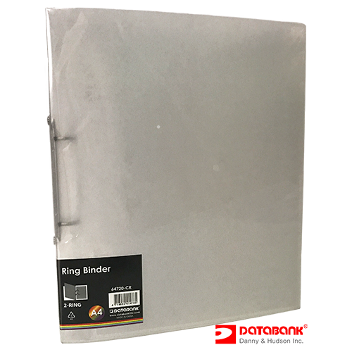 64720-CR 2-RING BINDER CLEAR