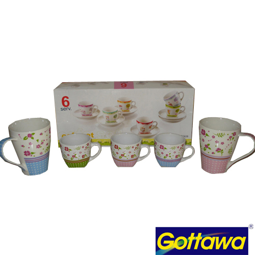 COFFEE CUP 130CC GLASTRA