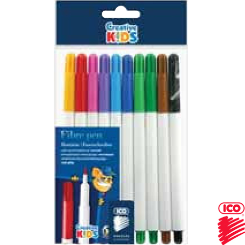 FELTPENS RAINBOW PH/10