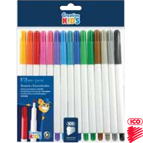 FELTPENS RAINBOW PH/15