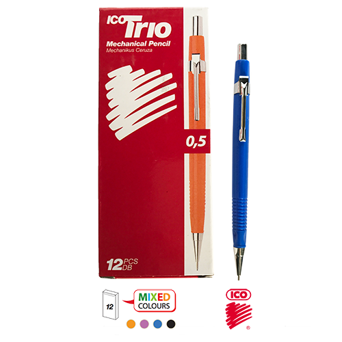 TRIO MECHANICAL PENCIL 0.5