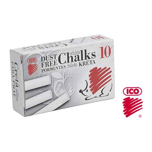 ICO DUST FREE CHALK WHITE