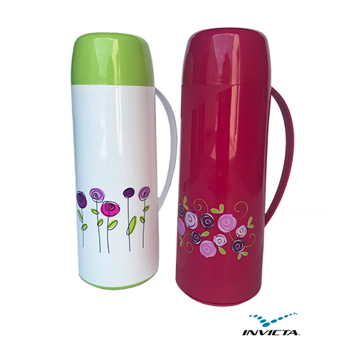 0001 THERMOS 1LT WITH DECOR