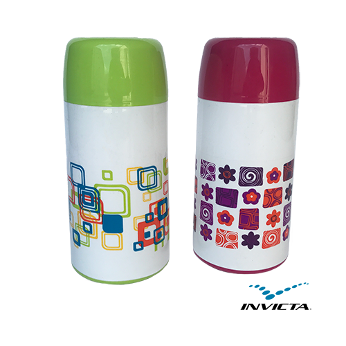 0003 THERMOS .25L WITH DECOR
