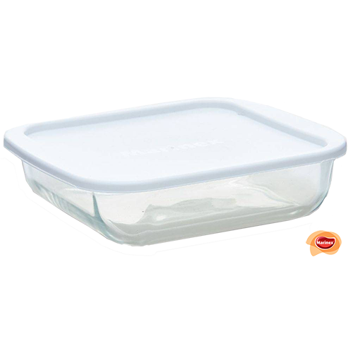 6221L SQUARE DISH WITH LID