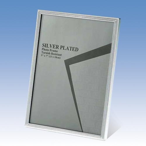 120S02 SILVER PHOTO FRAME