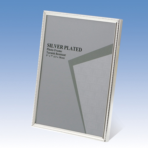 120S04 SILVER PHOTO FRAME