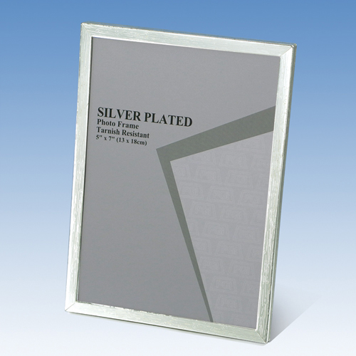 120S05 SILVER PHOTO FRAME