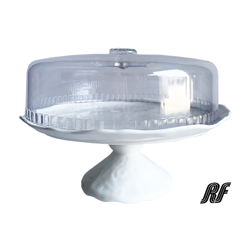 6920D-12 CAKE PLATE 30 W/FOOT & LID