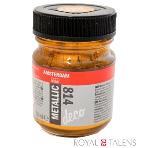 51248140 AAC METALLIC JAR 50 ANT. GOLD