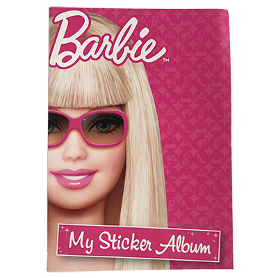 126019 STICKER ALBUM BARBIE