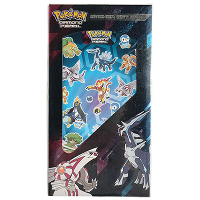 410006 STICK GIFT CARD POKEMON